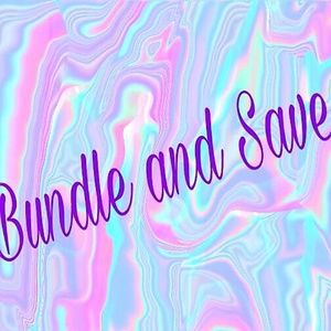 Bundle 2+ and Save 10%!!!